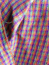 Handwoven jacket fabric in 16/1 linen