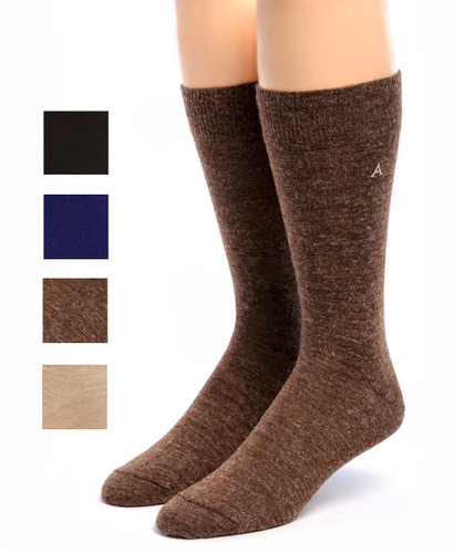 Trouser Alpaca Socks Showing color options