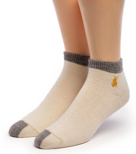 Light Mini Crew Alpaca Socks Front