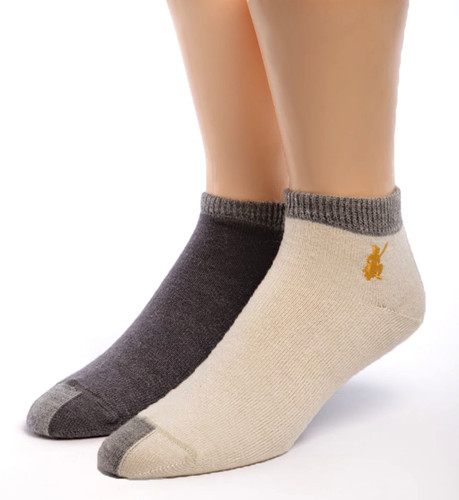 Light Mini Crew Alpaca Socks Both Colors