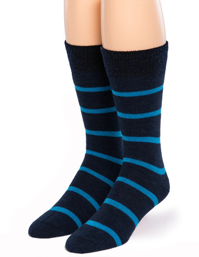 Alternating Stripe Socks - Front