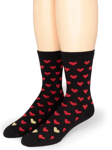 Alpaca Found Hearts Socks Front