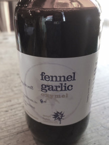 Fennel Garlic Oxymel