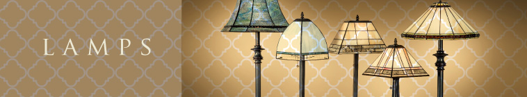 decorative glass art lamps by J. Devlin
