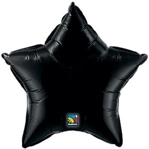 "20"" Black Star Foil Balloon"