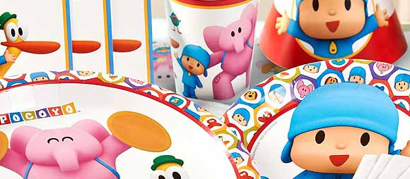 Pocoyo Party Supplies For Kids Birthday Party Themes