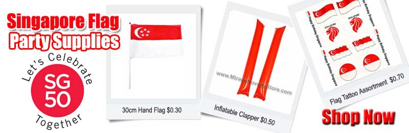 Buy Singapore Flag Party Supplies