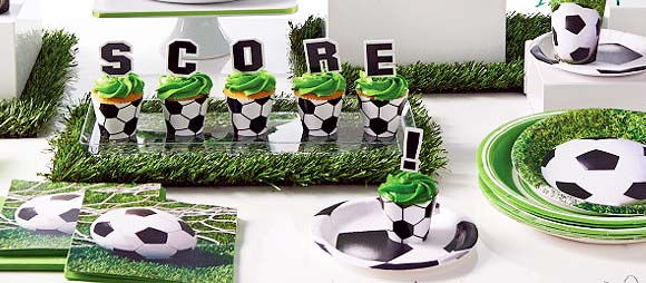 Soccer Party Supplies For Boys Birthday Party Themes At Mtrade