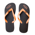 Chocolate Orange - Brown/Orange Flip-Flops