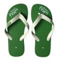 Kiwi - Green/White Flip Flops