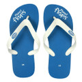 Blueberry - Blue/White Flip Flops