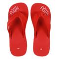Cherry Wedge - Red Wedge Flip-Flops