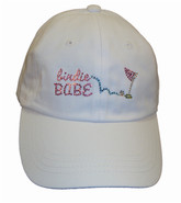 Birdie Babe Bling Hat White