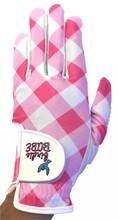 Checkered Past Golf Glove