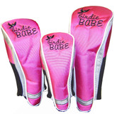 pink golf club head covers for women