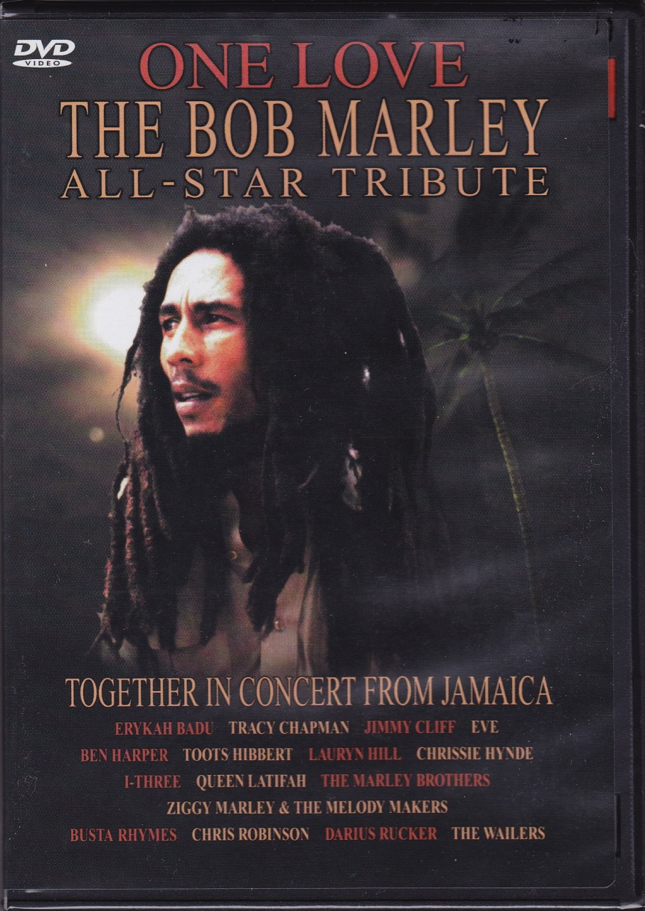 a review of the bob marley tribute concert Available in: dvd with an impressive listing of artists and songs, one love: the bob marley tribute comes to dvd the disc is presented full frame as it.