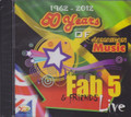 Fab 5 & Friends Live : 1962 - 2012...50 years of Jamaican Music CD