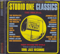 Studio One Classics - Soul Jazz Records : Various Artist CD