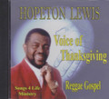 Hopeton Lewis : Voice Of Thanksgiving CD