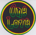 Embroidered Patch...One Love