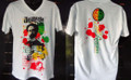Jah Rock : Jah Rastafari - T Shirt (White)