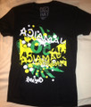 Jamaica 50th Anniversary : 1962 - 2012 Downtown Black - T Shirt