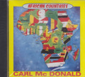 Carl McDonald : African Countries CD