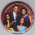 Obama Family Pin 2008 : Collectors Pin