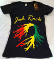 Jah Rock : Black - Women's T Shirt