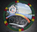 Rasta Beaded Steering Wheel Cover : Red, Green & Gold