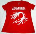 Jah Rock : White Root - Red Women's T Shirt