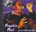 Frankie Paul : Live At The Maritime Hall CD