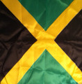 Black Green And Gold : Jamaica Flag - Bandana