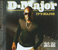 D - Major : It's Major CD