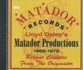 Lloyd Daley's Matador Productions 1968 - 1972 : Various Artist CD