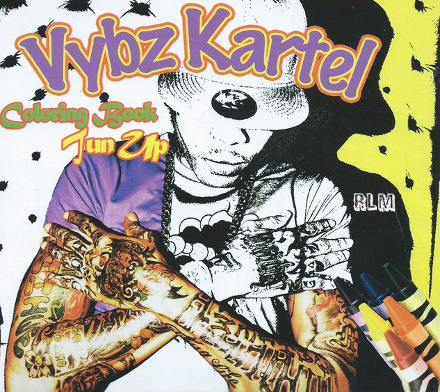Colouring Book By Vybz Kartel