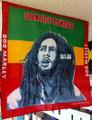 Bob Marley : Rasta Stripe - Handkerchief, Headwrap, Bandana