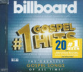 Billboard #1 Gospel Hits : Various Artist CD