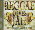 Reggae Loves Jah : Various Artist CD