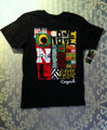 One Love - Mosaic : Cooyah T-Shirt (Black)