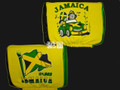 Jamaica Flag - Auto Seat Head Rest Covers (Pair)