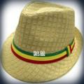 Rasta Milani Straw : Fedora Hat (Beige)