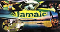 Jamaica Flag - Full Color Picture : License Plate