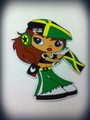 Jamaica Flag : Magnet Girl