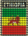 Lion Of Judah - Flag : Sticker
