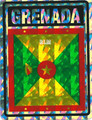 Grenada - Flag : Sticker
