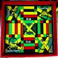 Ludo Board & Draughts Board : Jamaica National Heroes (Custom - Large)