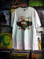 Jah Rock : Jah Rastafari Star - T Shirt (White)