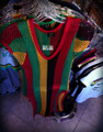 Rasta Mesh - Dress (Black, Red, Green & Gold)
