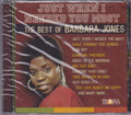 Barbara Jones : Just When I Needed You Most - The Best Of CD